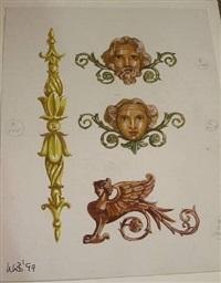 roman villa cherubs by laurence llewelyn bowen