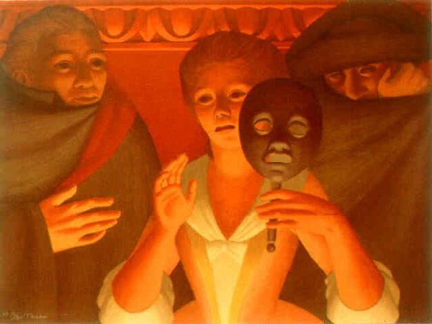 un ballo in maschera, ed.250 by george tooker