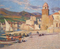 La Tour de Collioure, ca. 1920