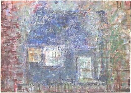 blue house by frances hynes