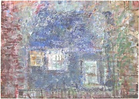 blue house by frances hynes