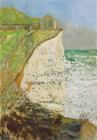 Birling Gap with Cliffs, 1995
