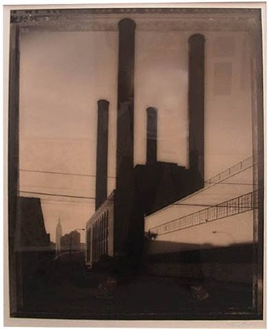 smokestacks, long island by tom baril