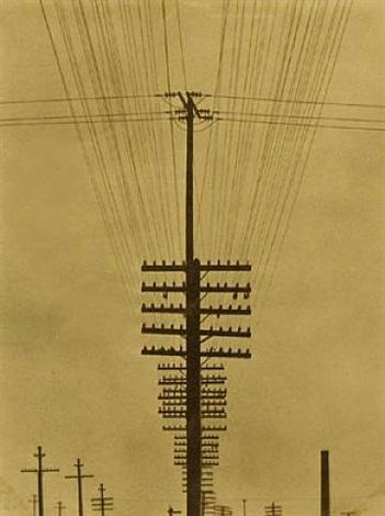 telegraph wires (fili ellectrici) by tina modotti
