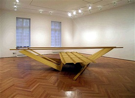 exhibition view by anthony caro