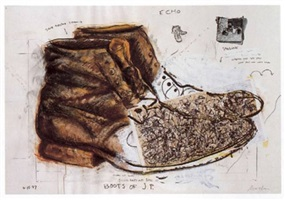 boots of jp by robert arneson