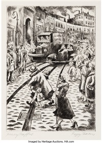 Heavy Traffic, 1941