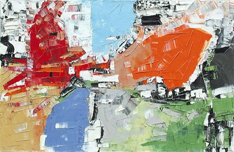 la zone by jean paul riopelle