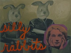 silly rabbits by ryan mendoza