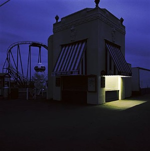 playland, rye, new york, 1991 by jeff brouws