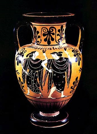 attic black-figure &hora - pf.5345 & Attic Black-Figure Amphora - PF.5345 on artnet
