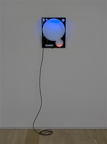 LED Circut Composition 24 GMT by Haroon Mirza on artnet