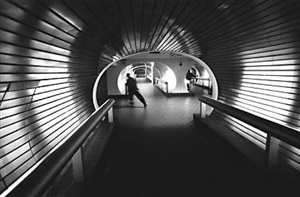 untitled (underground, new haven, ct) by charles martin