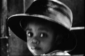 untitled (daughter in hat, staten island, ny) by charles martin