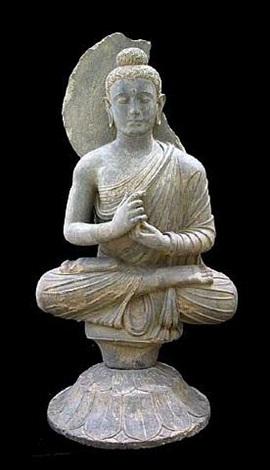 Gandhara Schist Sculpture Of The Buddha X 0527 On Artnet