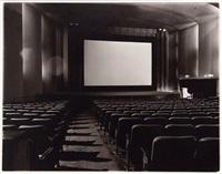 An empty movie theater, N.Y.C., 1971