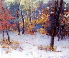 winter woods by alfred jansson