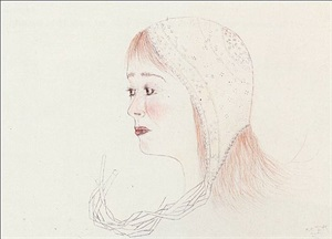 red cap by kiki smith