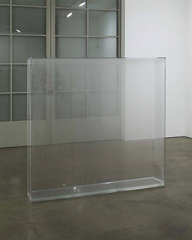 condensation wall by hans haacke