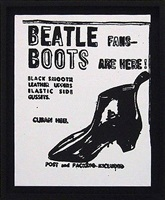 beatle boots by andy warhol