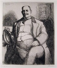 james b. moore, esq. by john french sloan