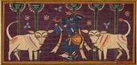 Untitled (Krishna and Cows)