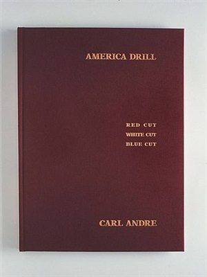 cover: america drill by carl andre