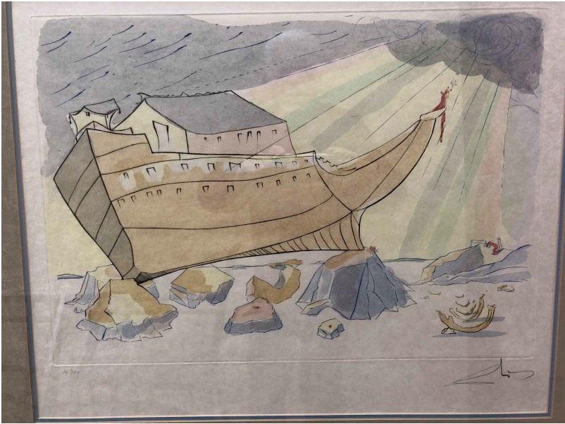 Noahs Ark by Salvador Dalí on artnet