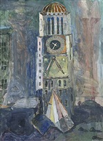 clocktower by howard lerner