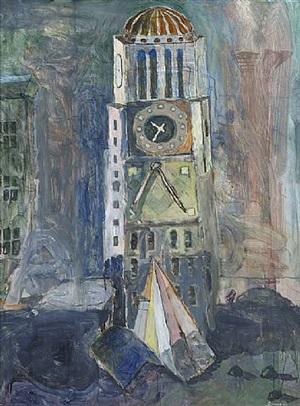 clocktower by howard lerner