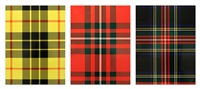 Tartan Set (Dress MacLeod, MacGregor, Black..., 1986