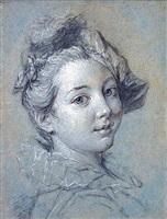 la marquise de la salle (l'espagnolette sanguine) by alexis grimou
