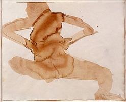 santa fe nude #1 by nathan oliveira