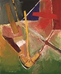 Collage Painting, 1958–1959
