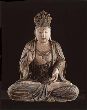 seated buddha, ming dynasty