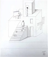 architecture by saul steinberg