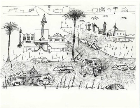 florida by saul steinberg