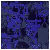 sculptured activities: purple by barry le va