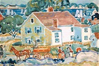 bayside marblehead by maurice brazil prendergast