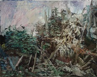 Wooded Rocks, 1974
