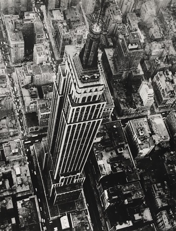 Empire State Building by Nat Fein on artnet
