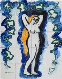 Femme nue au lierre, 1908–1910