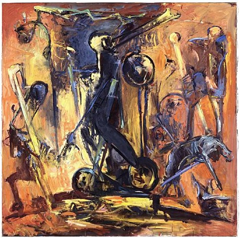 danse macabre, fahrrad by max kaminski