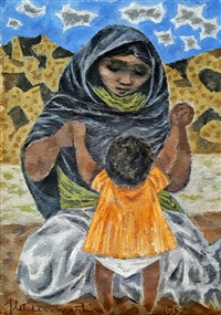 Mother and Child, 1957
