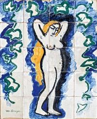 Femme nue au lierre, 1909