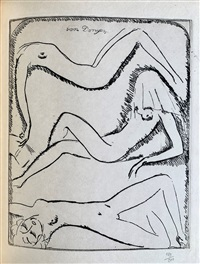 Reclining nudes, 1925