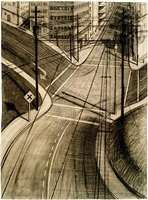 intersection by wayne thiebaud