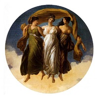 the three graces by alexandre-évariste fragonard