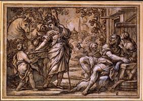 erminia and the shepherds by giuseppe nicola nasini