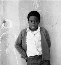 young boy, potrero hill projects, san francisco, ca by margo davis